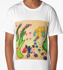 Friends in Fairyland Long T-Shirt