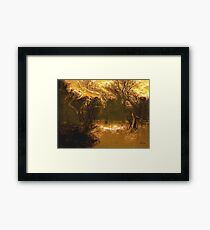 Travels While Sleeping V Framed Print
