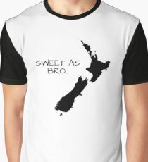 Sweet As Bro Graphic T-Shirt