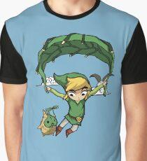 Legend Of Zelda - Flying Away Graphic T-Shirt