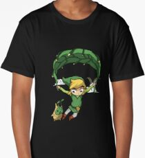 Legend Of Zelda - Flying Away Long T-Shirt