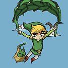 Legend Of Zelda - Flying Away by Seignemartin