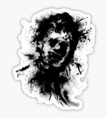 Texas Inkblot (classic) Sticker