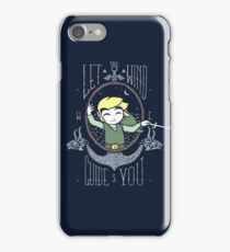 Let The Wind Guide You iPhone Case/Skin