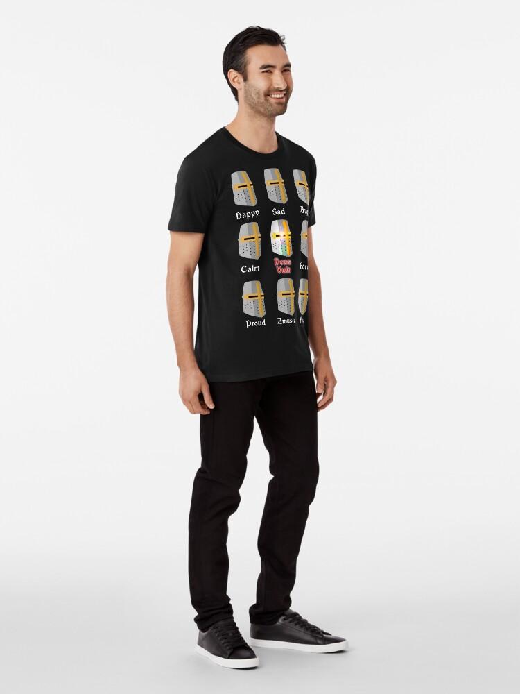 Vista alternativa de Camiseta premium Deus Vult Expressions