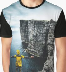 explorer on top of the rock Graphic T-Shirt