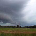 Running Before The Storm by WildestArt