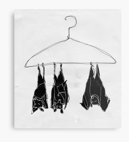 fruitbats in the closet Metal Print