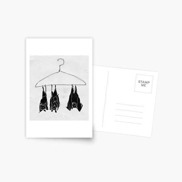 fruitbats in the closet Postcard