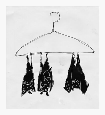 fruitbats in the closet Photographic Print