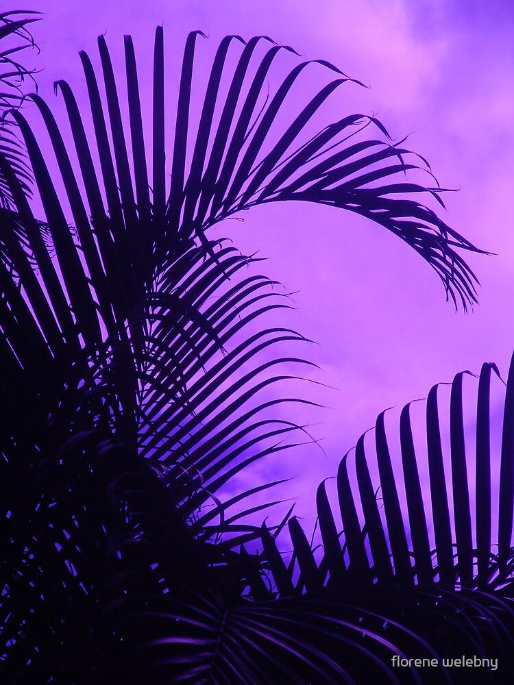 Purple Curls by florene welebny