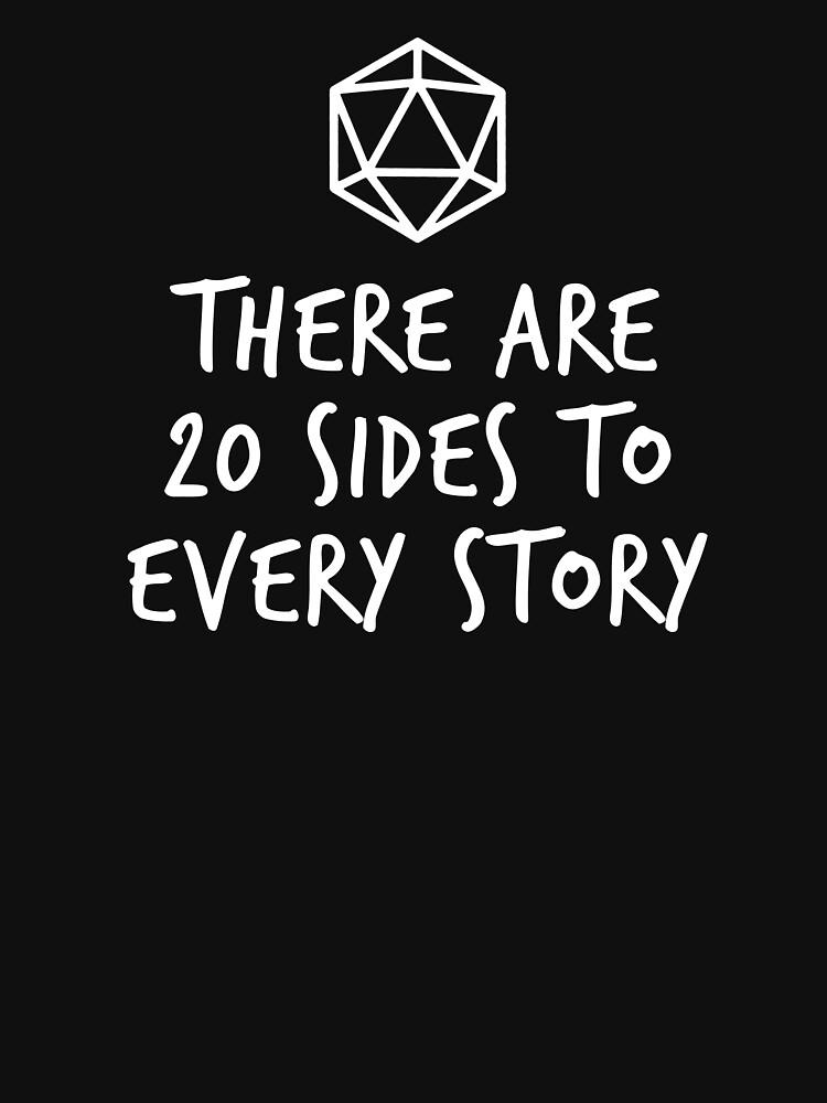 Es gibt 20 Seiten zu jeder Geschichte - Dungeons and Dragons (White) von enduratrum