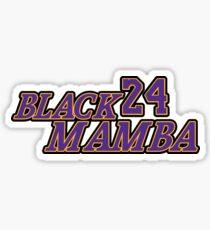 "LA #24 ""Black Mamba"" Sticker"