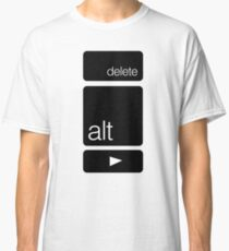 Delete Alt Right Classic T-Shirt