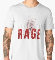 I WOULD LIKE TO RAGE!!! (White)  Men's Premium T-Shirt