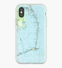Vintage Southern Outer Banks Map (1957)  iPhone Case