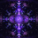 Charoite - Grand Julian Fractal by James Headrick