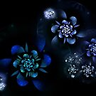 Blue Flowers by James Brotherton