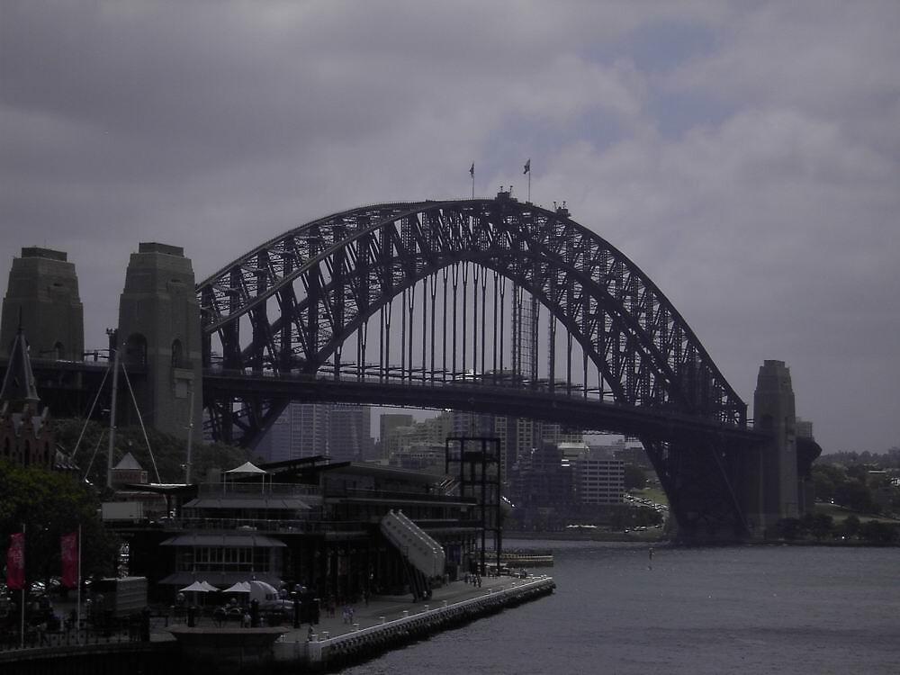 Sydney Harbour Bridge by Hunnie