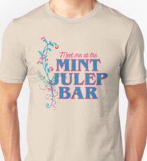 Meet Me At the Mint Julep Bar T-Shirt