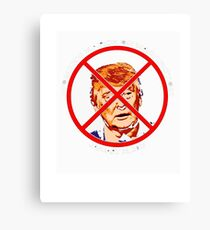 Sorry About Our President T-Shirt Anti Trump Funny Multiple Canvas Print