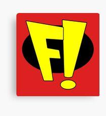 F! - Freakazoid! Canvas Print