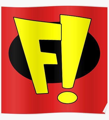 F! - Freakazoid! Poster