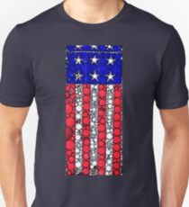 STARS AND STRIPES BUBBLE FLAG T-Shirt