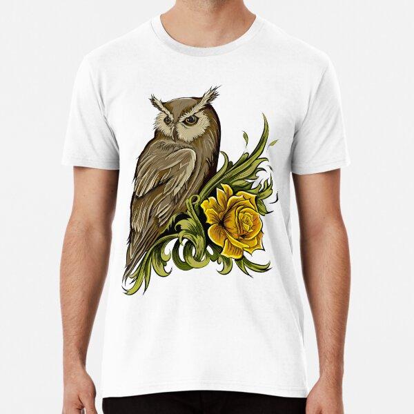 Wise Morning Owl Premium T-Shirt