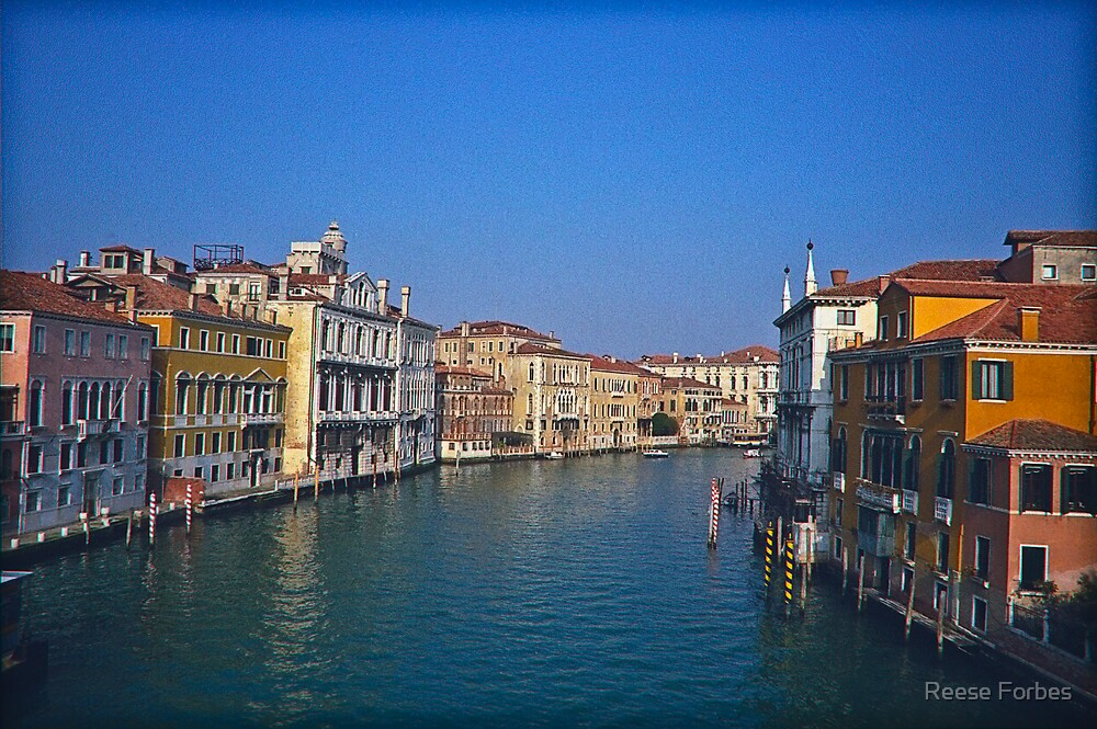 Grand Canal Venice by Reese Forbes