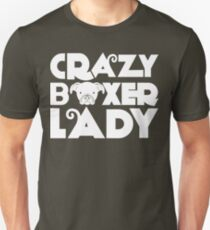 Crazy Boxer Lady T-Shirt