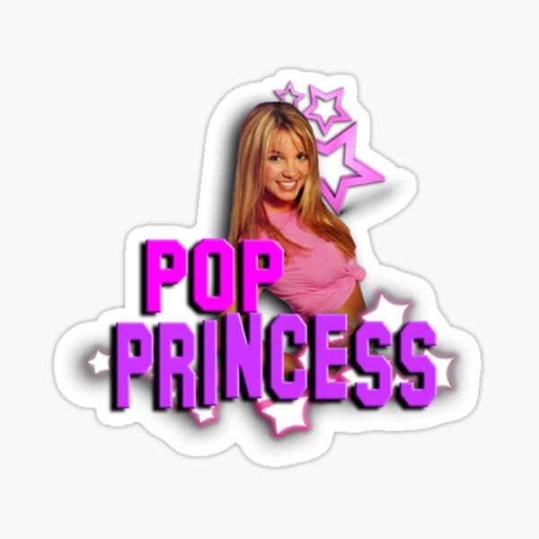 Pop Princess Sticker