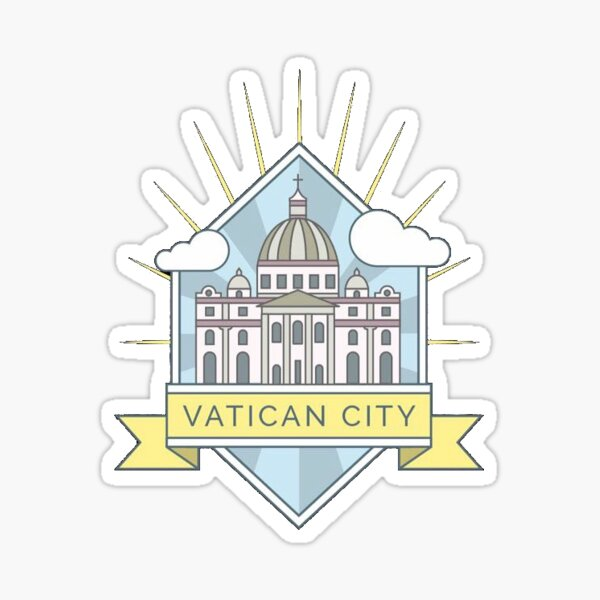 Vatican City Sticker