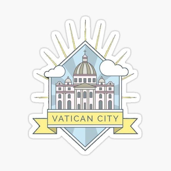 Cité du Vatican Sticker