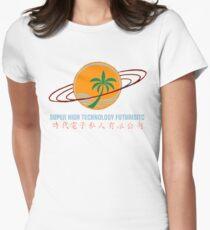 Super High Technology Futuristic Women's Fitted T-Shirt
