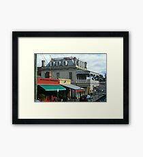 Streetscape, Castlemaine VIC Framed Print