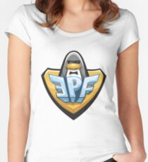EPF logo Women's Fitted Scoop T-Shirt