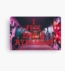 Hypebeast Subway Canvas Print