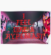 Hypebeast Subway Poster