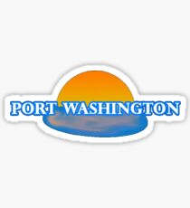 Port Washington Sticker