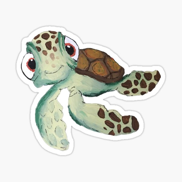 Squirt Sticker