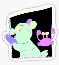 evil duo Sticker