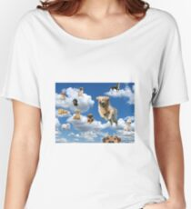 Dogs in the Sky Women's Relaxed Fit T-Shirt