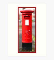 Postbox Art Print