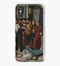The Judgment of Cambyses 1498 Gerard David iPhone Case/Skin