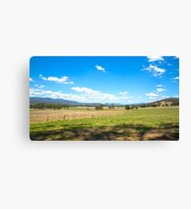 King Valley ...Australia. Canvas Print