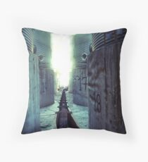 final countdown Throw Pillow