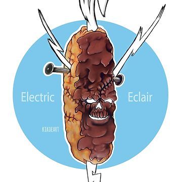 """E"" is for ""Electric Eclair"" by kikoeart"
