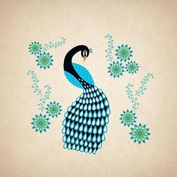 Peacock by cristinadesign