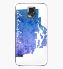 Rhode Island Watercolor Case/Skin for Samsung Galaxy